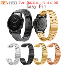ZENHEO Quick Release Replacement wristband Watch Band bracelet strap for Garmin Fenix 5s Smart Watch 20mm wrist band strap 20mm sport watch strap bracelet for garmin fenix 5s watch band soft silicone wrist band strap watchbands