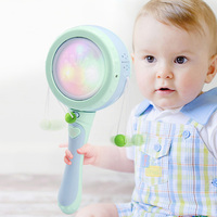 Baby Kids Children Electric Shaking Rattle Musical Drum Toy Party Cute Funny