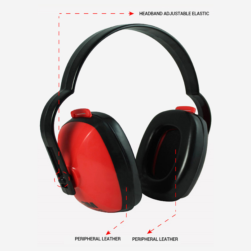Soundproof Earmuffs Noise Comfortable Sponge Ear Protection Shooting Travel Sleep Reduction Earprotection Noise For Work Earmuff стоимость