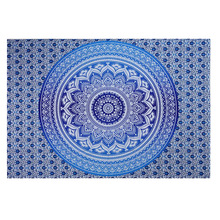 Newly Mandala Tapestry Indian Bohemia Wall Hanging Sandy Beach Towel Blanket Carpet Decorative