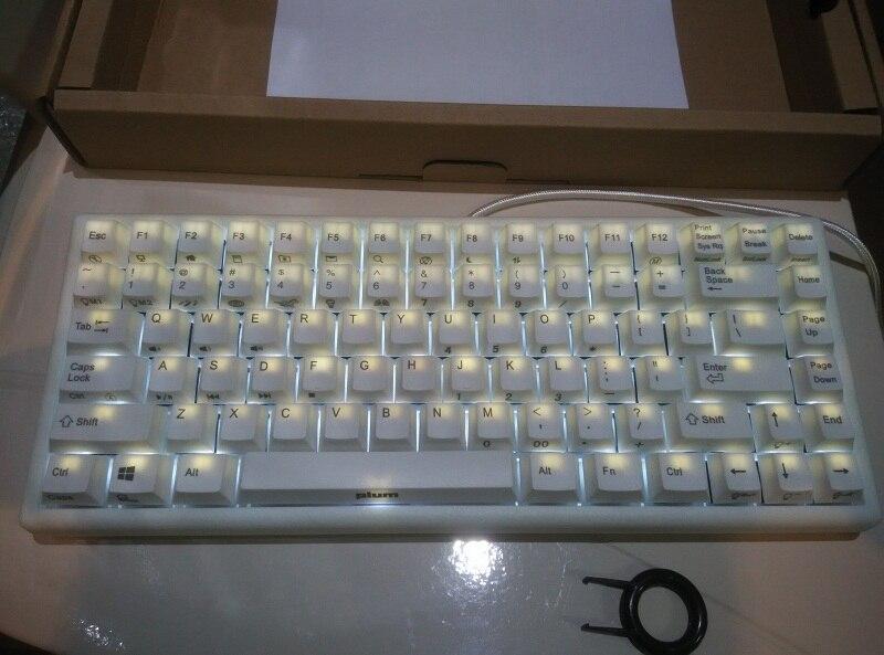 NIZ Plum 84 белая механическая клавиатура с подсветкой gateron mx коричневые синие игровые клавиатуры backlit mechanical keyboard mechanical keyboardgaming keyboard - AliExpress
