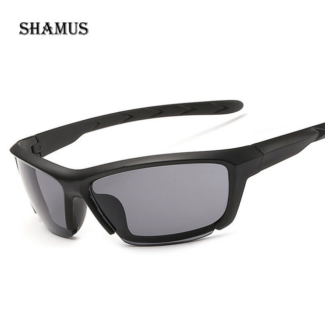 9ca11b88e Shamus ماركة مكبرة مع حقيبة hd CR-39 ينس الرياضة نظارات شمسية رجالية لجولة  oakleyed