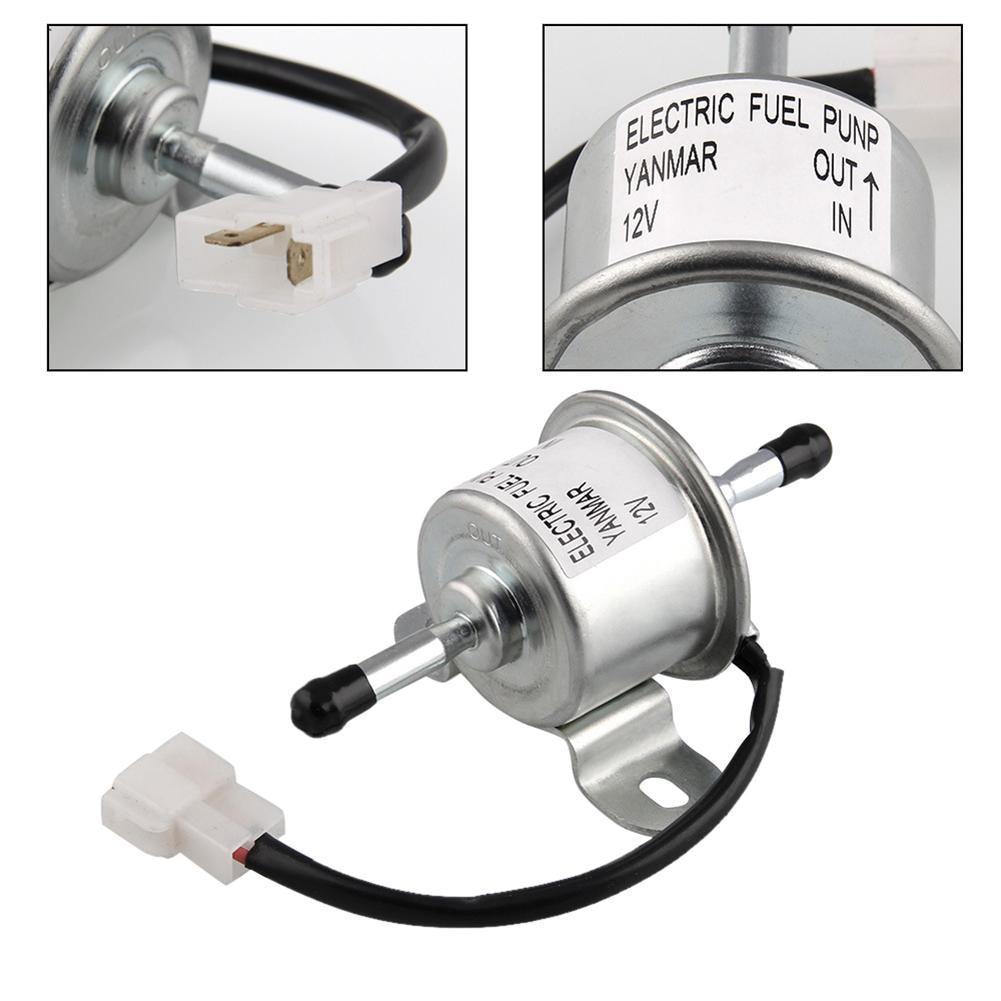 DC12V Automotive Electronic Fuel Pump Fuel Feed Pump For Yanmar 4TNV88 3TNV88 Hitachi Mini Excavator Car Modified Accessories