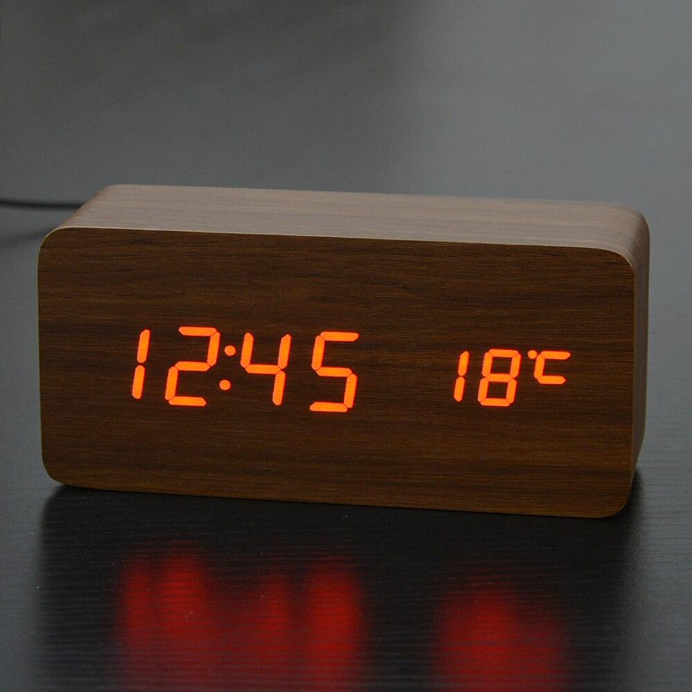 Гаджеты часы с будильником