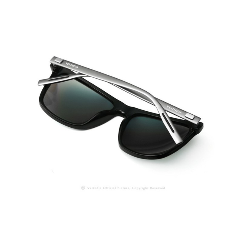 ee25a70312 Aliexpress.com   Buy Women Men Retro Aluminum+TR90 Sunglasses Polarized Sun  Glasses Eyewear for VEITHDIA Brand Designer Lunette De Soleil from Reliable  ...