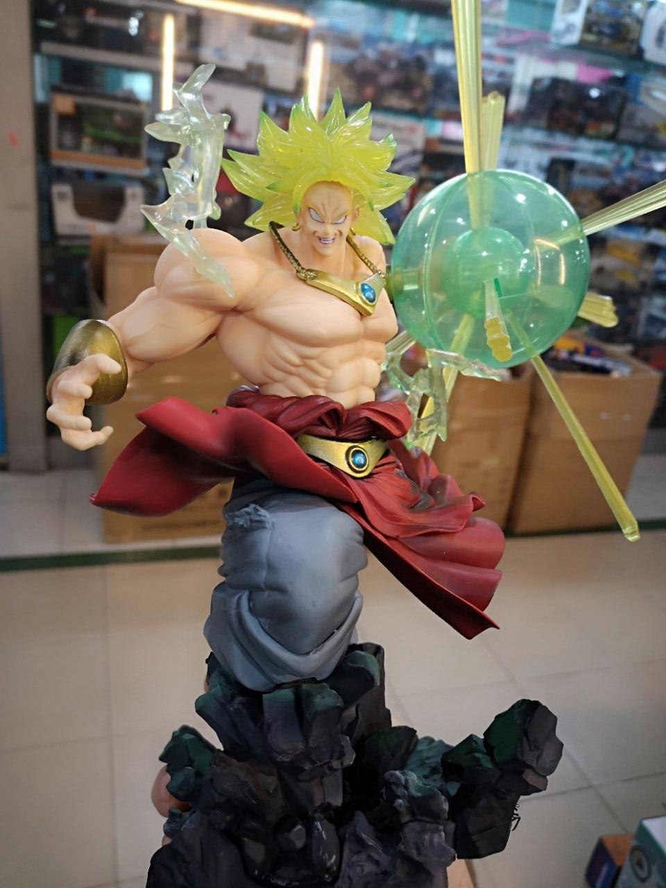 Новые горячие Dragon Ball Z фигурка F. ZERO Супер Saiyan Broli фигурку Broly ПВХ 32 см - 2