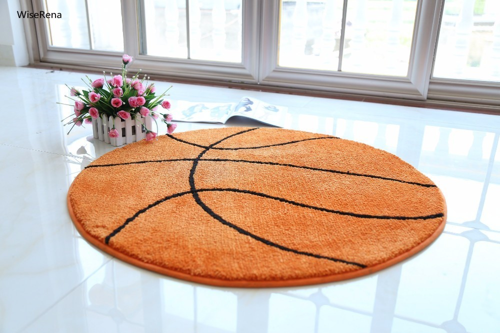 20 Styles de basket-ball tapis rond salon salon tapis enfants enfants garçons chambre tapis chaise tapis tapis de bain de haute qualité