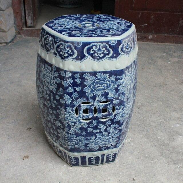 Antieke Witte Kaptafel.Antieke Kruk Voor Kaptafel Kruk Chinese Porselein Tuin Kruk