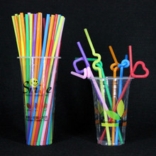 100 soft plastic curved mixed color square disposable sucker children's Birthday wedding party activities, toy supplies.