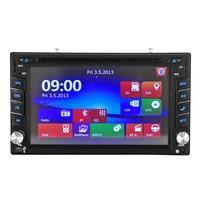 Universal Double 2DIN In Dash GPS Navi Car DVD Player Bluetooth Auto Stereo Radio