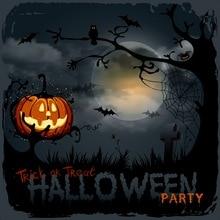 Halloween backdrop photo backdrops pumpkin lantern full moon halloween party photography backgrounds cloth fondo para fotos
