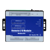 Industrial IoT Remote IO Module Modbus RTU 8 Optical Isolated Digital Input Supports max. 10Mhz Pulse counter M140