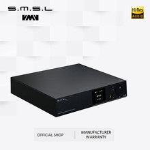 SMSL A8 125Wx2 AK4490 768khz DSD512 XMOS HIFI ICEpower Module Audio Digital Power Amplifier/DAC/Headphone Amp Latest Solution