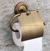 Antique Brass Toilet Paper Holder Bathroom Toilet Holder For Roll Paper Towel Bathroom Accessories Bba106