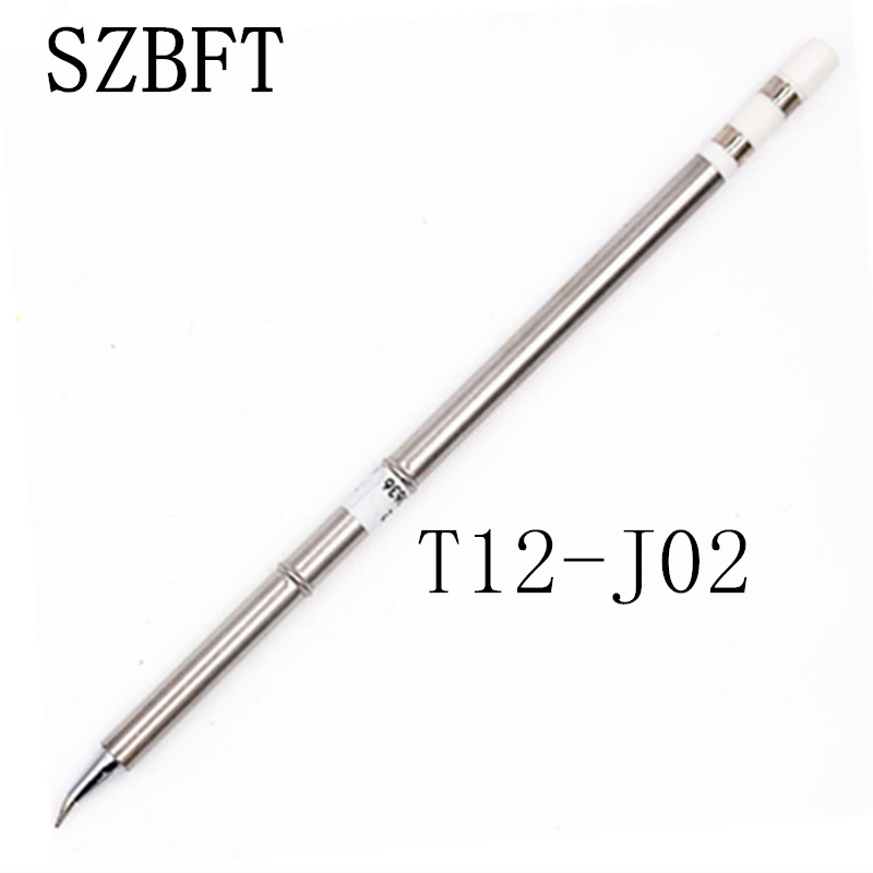 SZBFT 1 pz Per Hakko T12-J02 Saldatori elettrici Punte per saldatura Punta per saldatura per stazione FX-950 / FX-951