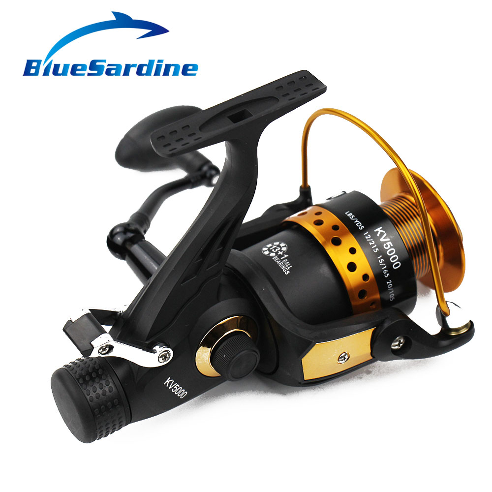 BlueSardine 13 + 1 BB 5.2: 1 Metal Spinning Fishing Reel Pesca - თევზაობა - ფოტო 5