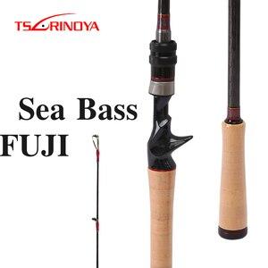 TSURINOYA DEEP ATTACK Lure Fishing Rod 2.28m 2.47m 2 Section Spinning/Casting Rod M ML Power Canne A Peche Carpe Fishing Pole