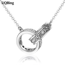 Free Shipping 925 Sterling Silver Necklaces Pendants Women Necklaces&Pendants Jewelry Collar Colar de Plata