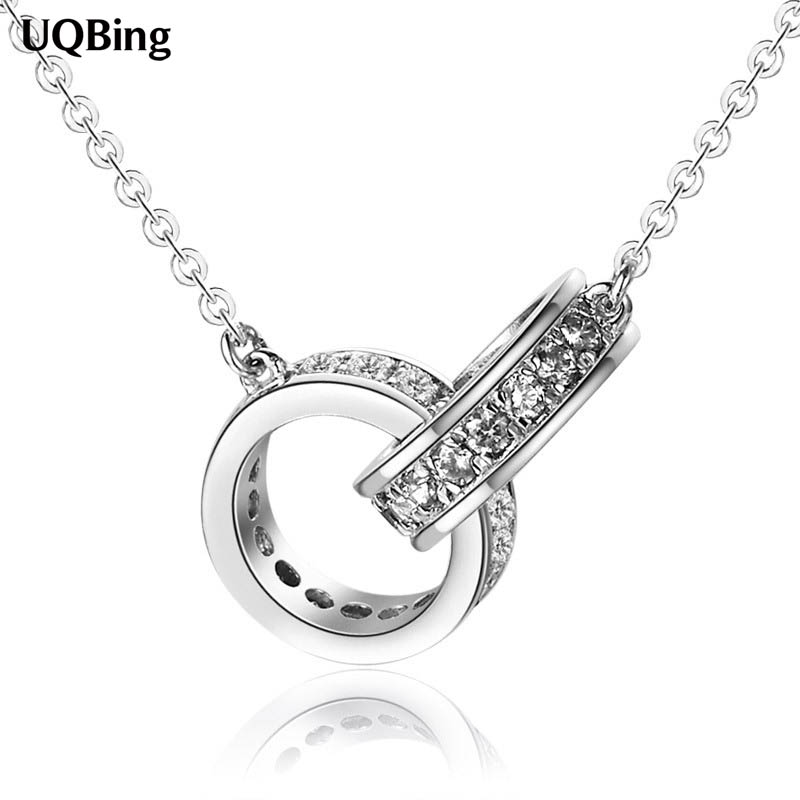 Free Shipping 925 Sterling Silver Necklaces Pendants Women Necklaces&Pendants Je