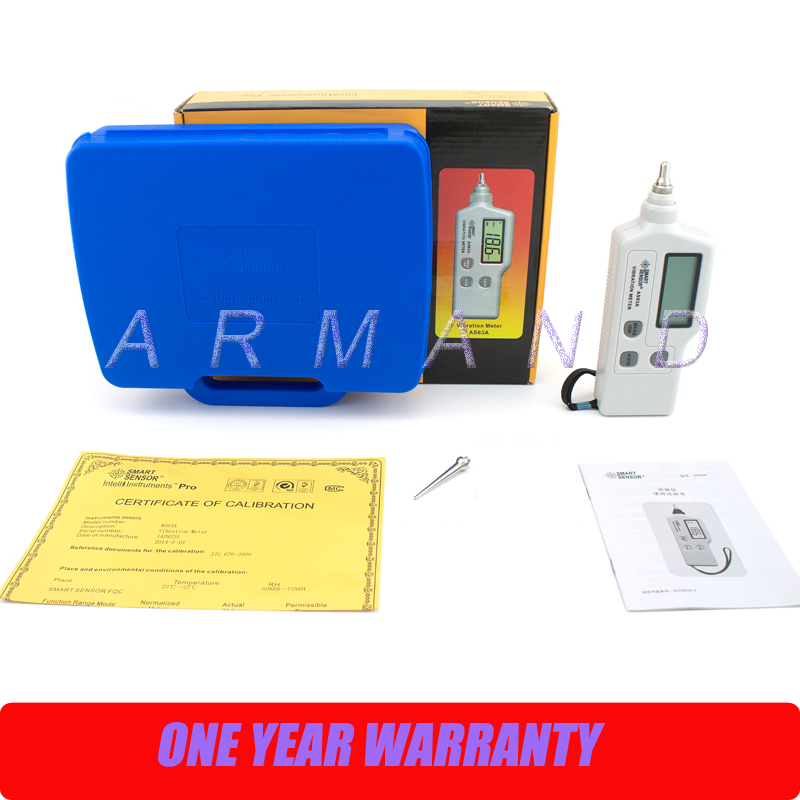Portable Vibration Meter Tester AS63A Smart Sensor vibration severity vibrometer analyzer цена