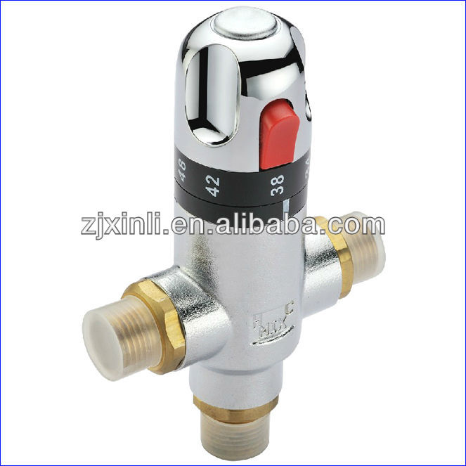 3 Size For Brass Thermostatic Mixing Valve To Adjust The