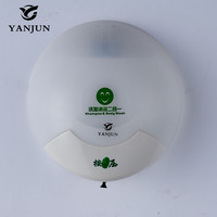 Yanjun 350 ml Fixado Na Parede Dispensador de Sabão Líquido dispensador de sabão Acessórios de Banho Longo Tubo Pequena Tartaruga Branco YJ-2521