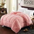 New Arctic velvet Winter Comforter Warm winter is the core of 1.5/1.8/2 meters embossed lamb wool Blanket