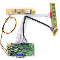 LCD Controller Board With VGA Source For 15.4 B154PW02 N154C1-L02 1440x900 LCD Screen