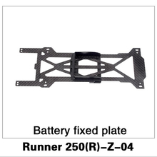 Original Walkera Runner 250 Advance Spare Part Battery Fixed Plate Runner 250(R)