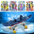 New Arrival Fingerboard Mini Plastic Finger Skateboard Fingerboard Skate Board Kids Toys Best Gifts For Children