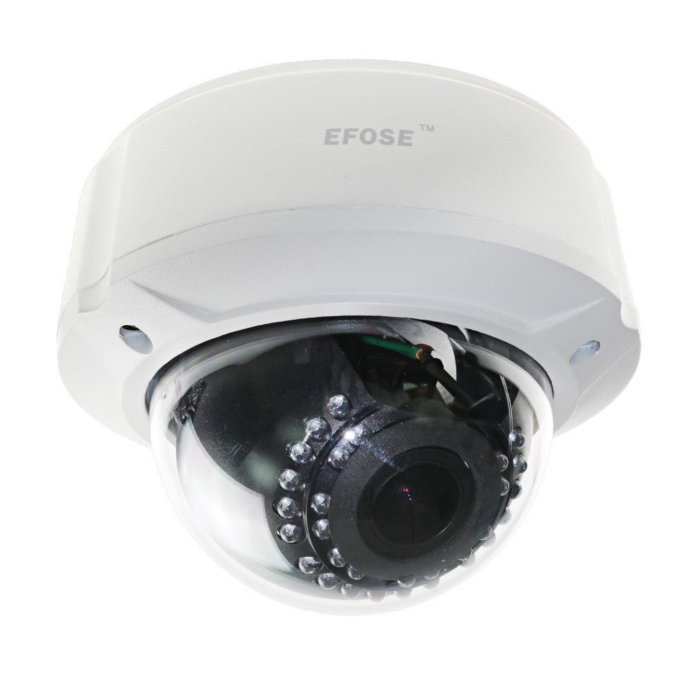 EFOSE-Home CCTV 700TVL 1/3 E-Effio CCD 2.8-12mm Lens OSD Vandal Proof Dome IR Camera