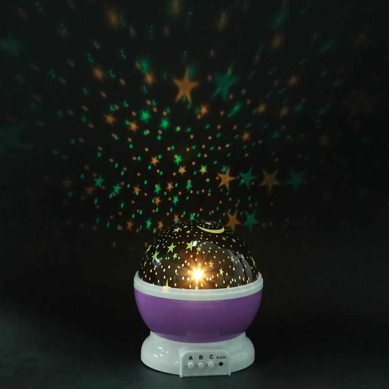 HTB1wI La wKL1JjSZFgq6z6aVXaJ Stars Starry Sky LED Projector Moon Night Lamp Battery USB Bedroom Party Projection Lamp for Children's Night Light Gift