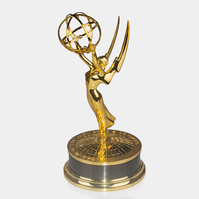 replica TV trophy / Metal Emmy Trophy, Emmy Awards, Replica Zinc Alloy Emmy Trophy ,Immy Awards