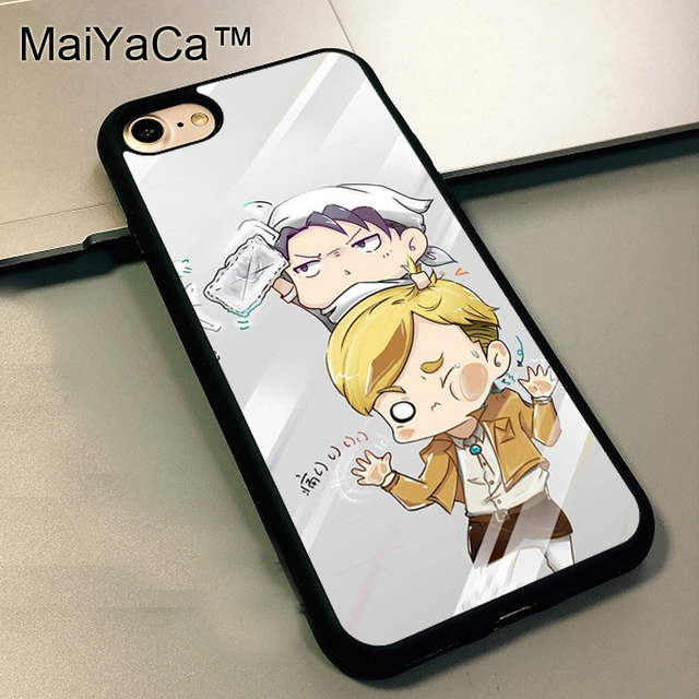 Erwin Smith Levi Attack on Titan Cases for iPhone