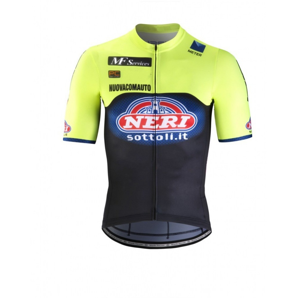 2019 eroupe pro team NERI cycling jersey Bicycle maillot breathable MTB quick dry bike clothing Ropa ciclismo only in Cycling Jerseys from Sports Entertainment