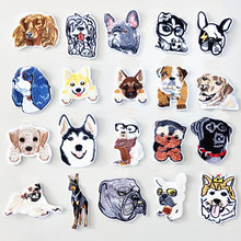 Animal Many Dog Badge Patch For Clothing Embroidered Iron On Patches Embroidery Sew DIY Coat Shoes Accessories