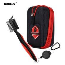 BOBLOV Golf Rangefinder Case EVA Hard Cover for Bushnell Tectectec Nikon Callway Rangefinders Bag Club Brush