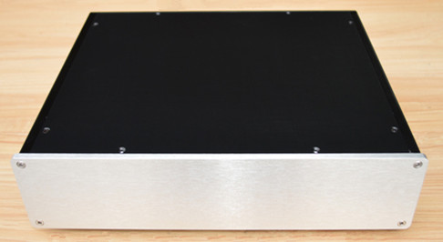 ФОТО case 260*80*370mm X2608-C all aluminum amplifier chassis/Tube amp /Class A amplifier /Pre-amplifier/AMP Enclosure/case/DIY box