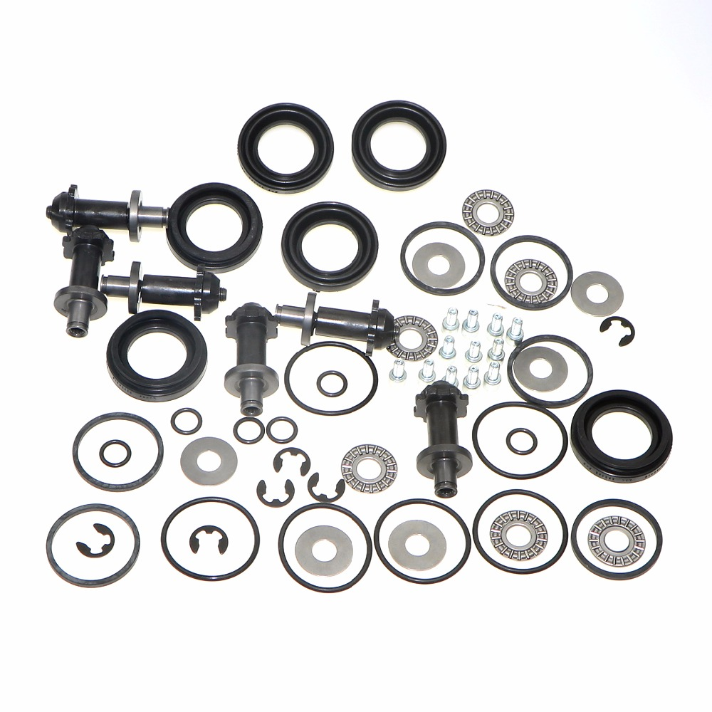 6 Set Rear Brake Motor Screw Combination Kit For VW PASSAT