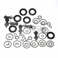 Promo offer 6 Set Rear Brake Motor Screw Combination Kit For VW PASSAT CC B6 B7 TIGUAN SHARAN A4 A5 Sportback A6 Q3 Q5 S5 Coupe 32326315
