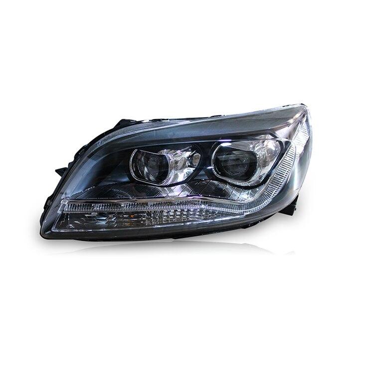 Ownsun Новый Орел Средства ухода для век СИД DRL Биксеноновая объектив проектора Фары для автомобиля для Chevrolet Malibu 2012 2014