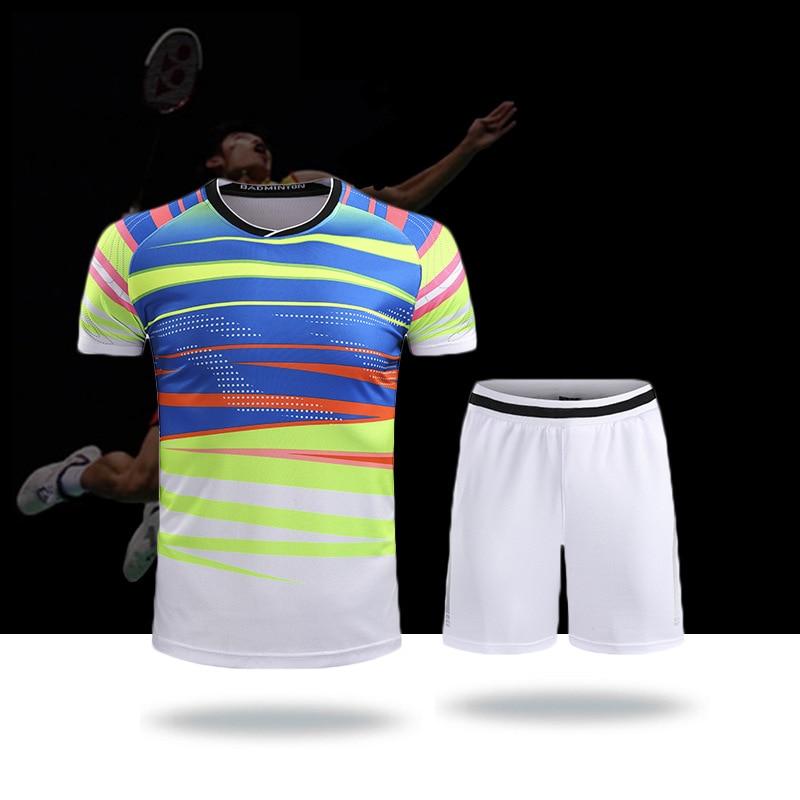 New badminton suit,2017 World Championships badminton Shirt,Athlete's Sportswear,tennis Clothes,Table tennis suit for men women
