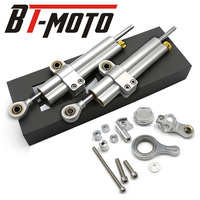 Motorcycle Accessories Adjustable Steering Stabilize Damper Bracket Mounting kit for YAMAHA YZF R6 2006 2016/ R1 2009 2012