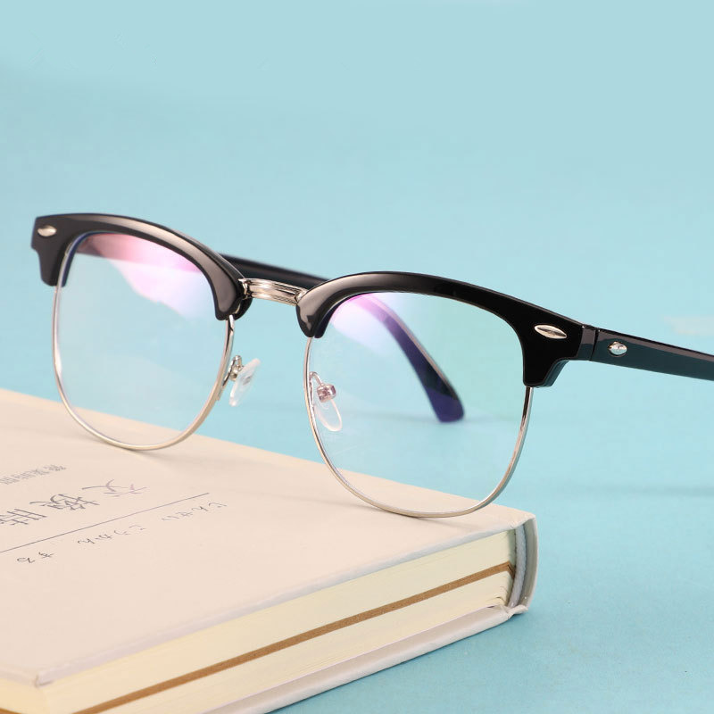 Fashion Optical Glasses Spectacle Frame For Men Women Glasses With Clear Eye Glass Male Female Clear Transparent Glasses Frames