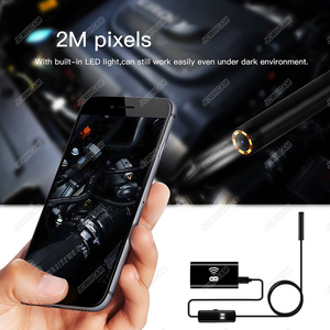 Image 3 - Newest Wireless 720P Mini Endoscope Camera HD Waterproof Snake Borescope Inspection Endoscopy For Iphone Android IOS PC Tablet