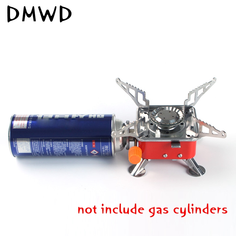 1PC portable gas stove furnace split burner outdoor camp hiking picnic cookout