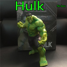 20cm Hot Movie Marvel's The Avengers The Hulk Anime Figure Toy Cartoon Hulk Display Model Collection Toys Children Birthday Gift(China)