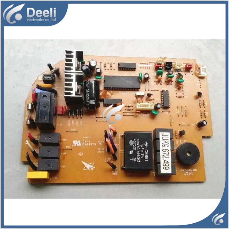 95% new good working for air conditioning motherboard Computer board JUK6.672.499 JUK7.820.283 board good working