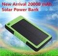 Cargador Solar 8000 mah Móvil Banco de la Energía Solar A Prueba de agua de Reserva Externa Bateria Cargador Portátil Powerbank