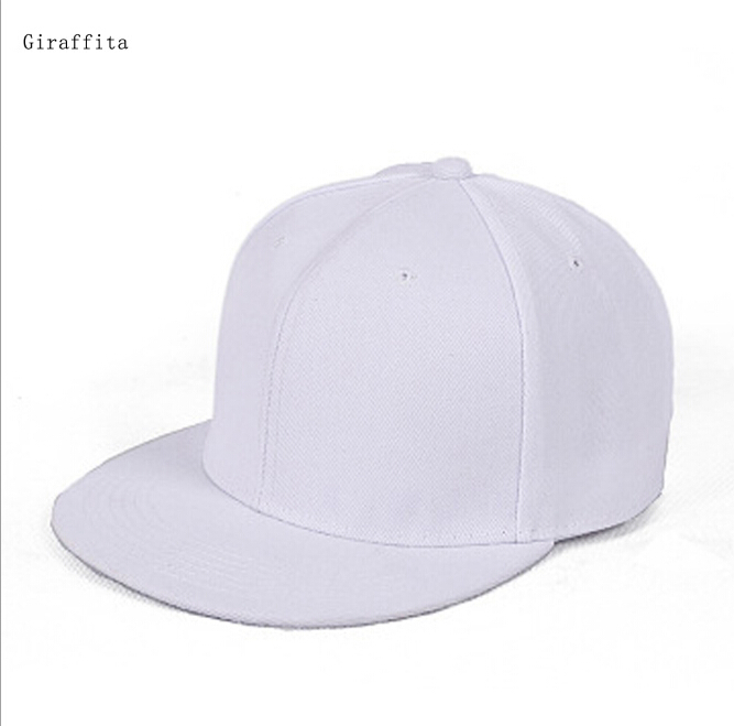 Mens Womens Snapback Caps New Fitted Hat Red Color Hip Hop Snap Back Baseball Cap Adult Cool Simple Flat Sun Hats